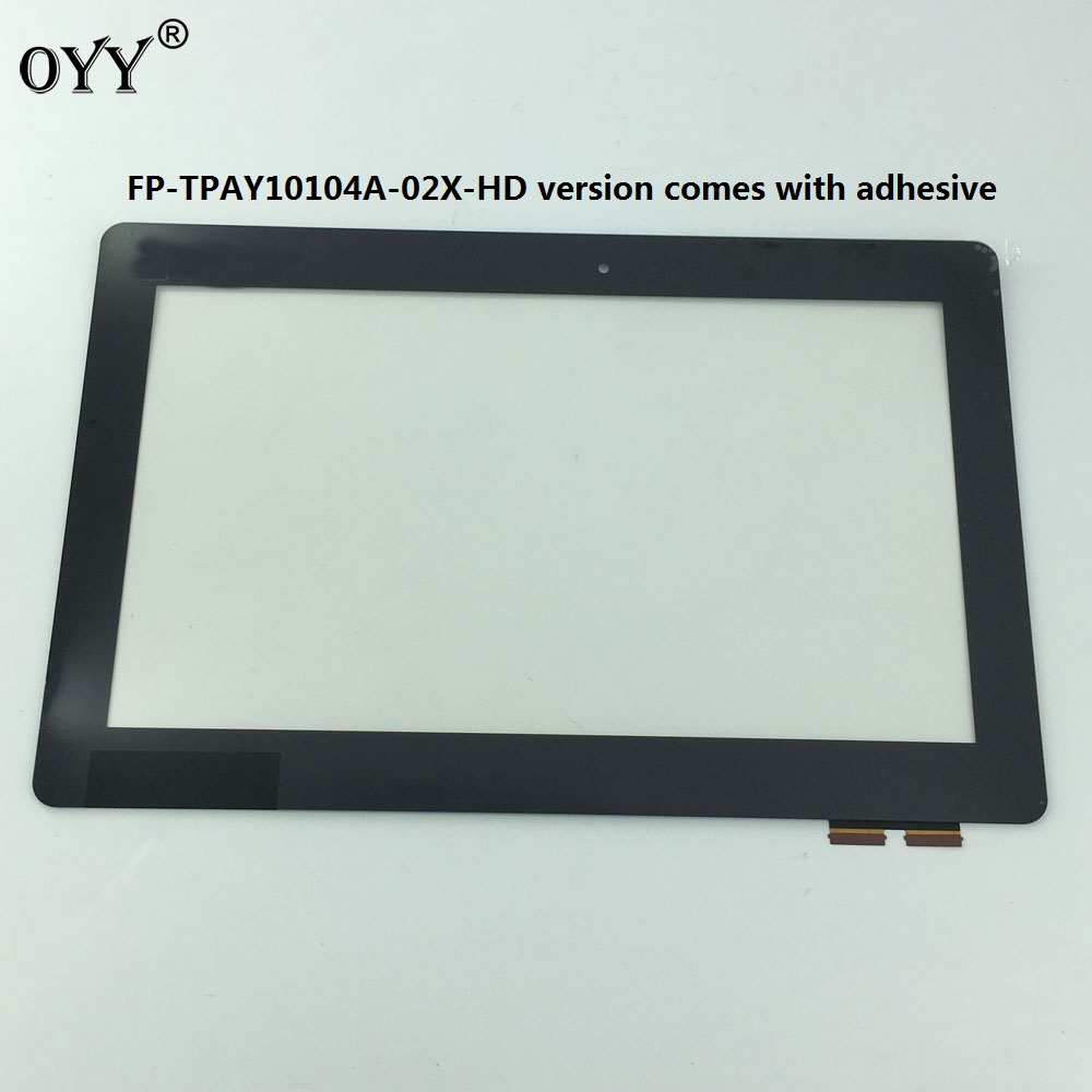 10.1 Touch Screen Digitizer Glass Panel Replacement Parts For ASUS Transformer Book T100 T100TA FP-TPAY10104A-02X-HD asus original black touch screen digitizer glass lens replacement parts for asus transformer book t100 t100ta tablet touch panel