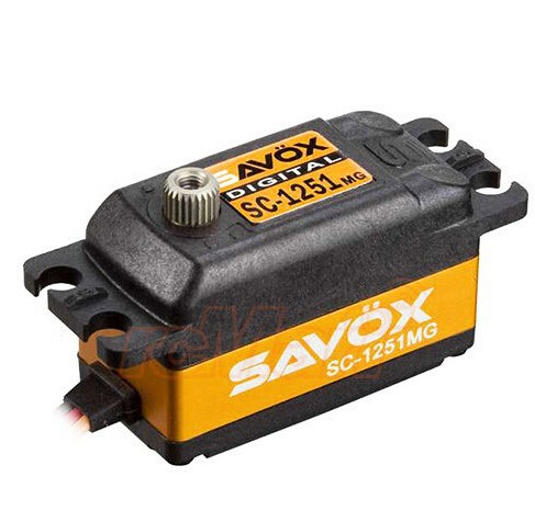 SAVOX A Basso Profilo Ad Alta Velocità Metal Gear Digital Servo 1:8 1:10 RC Auto # SC 1251MG-in Componenti e accessori da Giocattoli e hobby su  Gruppo 1