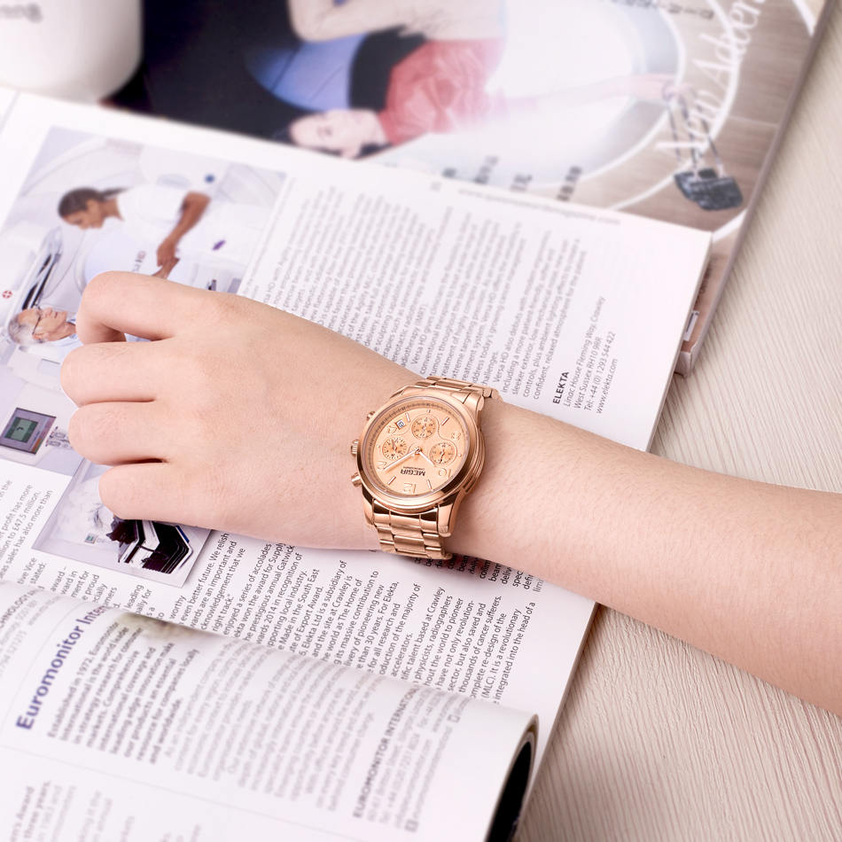Tops Πολυτελή Μάρκα MEGIR Γυναίκες Casual - Ανδρικά ρολόγια - Φωτογραφία 5