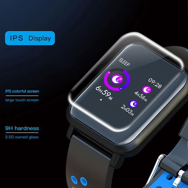 Unisex colorido rastreador de actividad impermeable y relojes inteligentes
