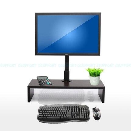 Support de moniteur de bureau à montage TV avec support de montage de moniteur de mouvement complet à levage gratuit W830