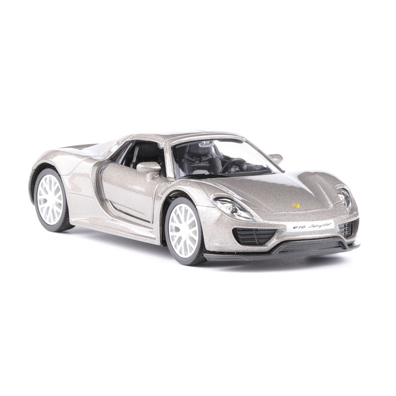 1:36 Scale For Porsche 918 Spyder Alloy Diecast Car Model Toy Vehicles 5