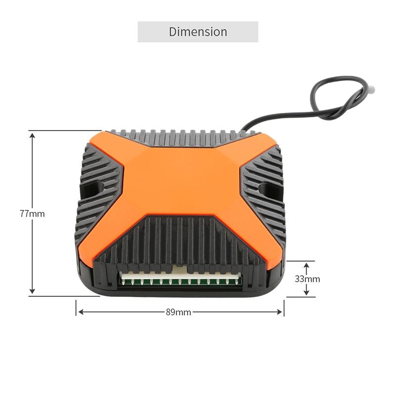 EASYGUARD автомобиля Автозапуск комплект с индивидуальные складной ключ Ключи для удаленной блокировки автомобиля вне ко