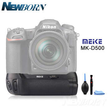 Meike MK-D500 Vertical Battery Grip Shooting for Nikon D500 Camera Replacement of MB-D17 As for Pixel Vertax D17