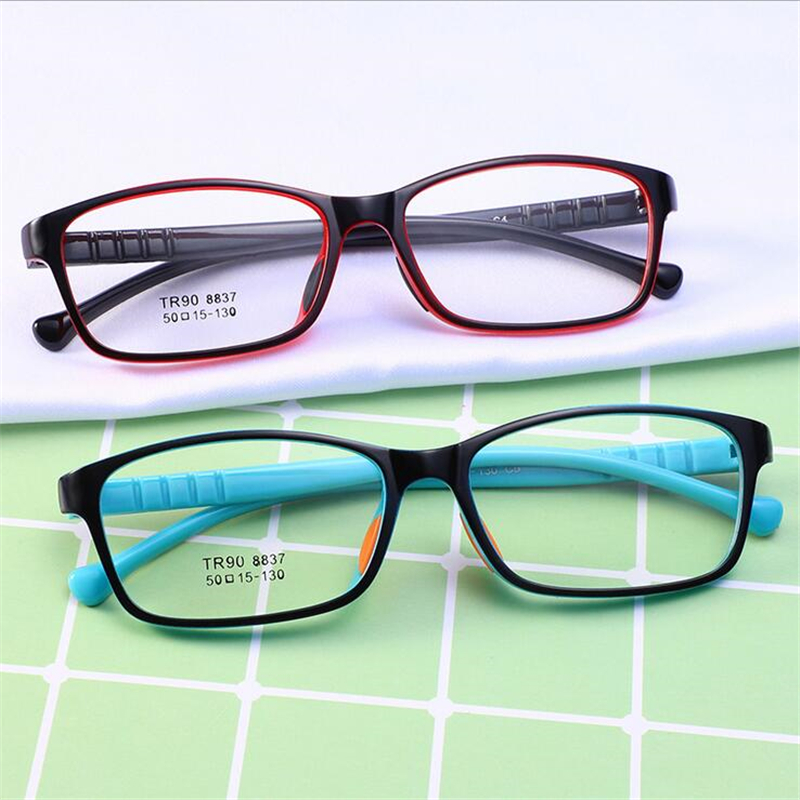 TR90 Children Optical Frame Eyewear Wholesale Eyeglasses Double Color New Style Girls Boys Kids Glasses Prescription Kid Glasses