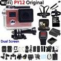 Câmera de Ação Wifi PY12 estilo Hero 4 Full HD 1080P Controle Remoto Mini Câmera Extrema de Mergulho Esporte Câmera  À Prova de água go-pro estilo