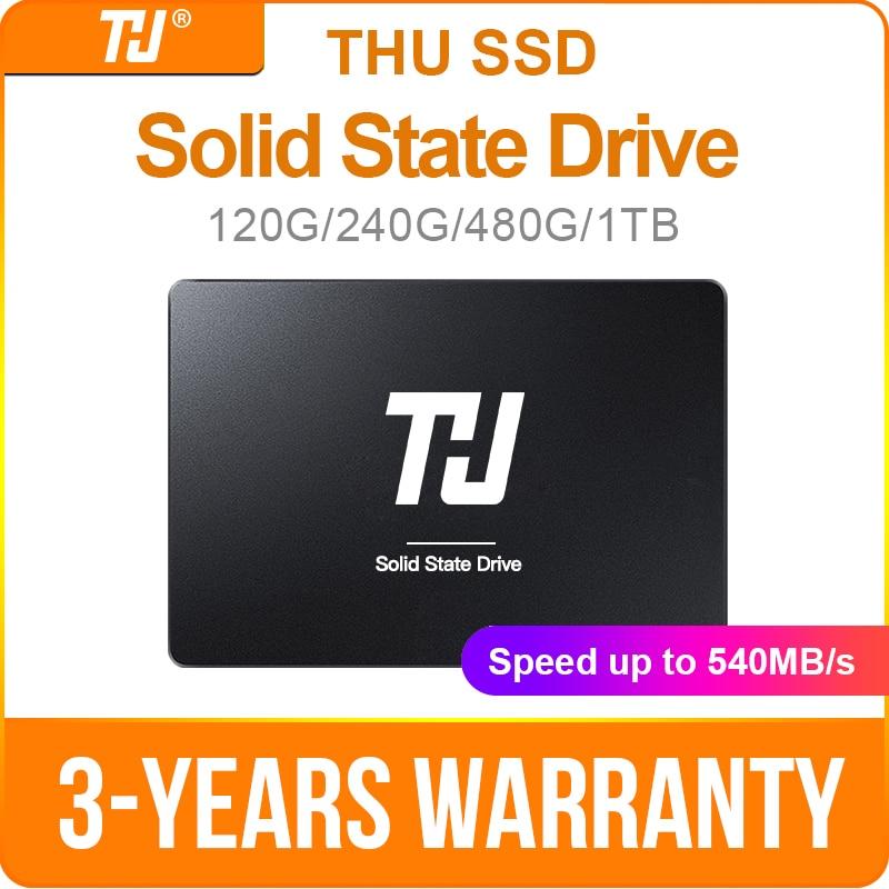 QUI SATA3 SSD de 120GB 240GB Internal Solid 1TB de Disco Rígido de 480GB 540 MB/s 2.5