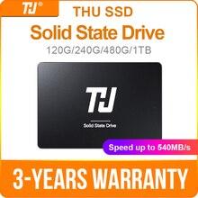 """الخميس SSD SATA3 SATA 120GB 240GB الداخلية الصلبة محرك قرص صلب 480GB 1 تيرا بايت 540 برميل/الثانية 2.5 """"للكمبيوتر الدفتري المحمول"""