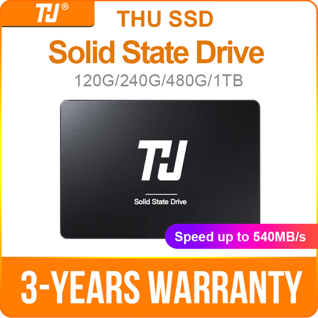 """THU SSD SATA3 SATA 120GB 240GB Bên Trong Chắc Chắn Ổ Đĩa Cứng 480GB 1TB 540 MB/giây 2.5 """"Dành Cho Máy Tính Xách Tay Máy Tính Xách Tay"""