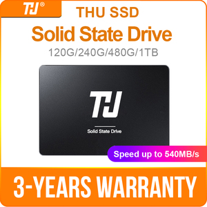 THU SSD SATA3 SATA 120GB 240GB Internal Solid Hard Disk Drive 480GB 1TB 540MB/s 2.5