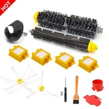 Brosses flexibles à 3 bras, filtre pour aspirateur iRobot Roomba séries 700 760 770 772 774 775 780