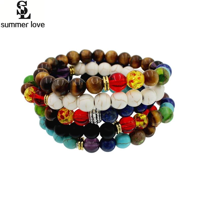 Yoga énergie de perles bracelet Body Shaper magnétique cadeaux perte de poids noir Thérapie
