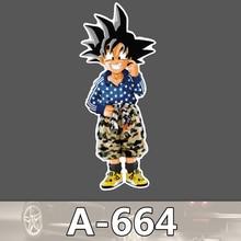 A 664 Dragon Ball Goku Waterproof Cool DIY Stickers For Laptop Luggage Fridge Skateboard Car Graffiti