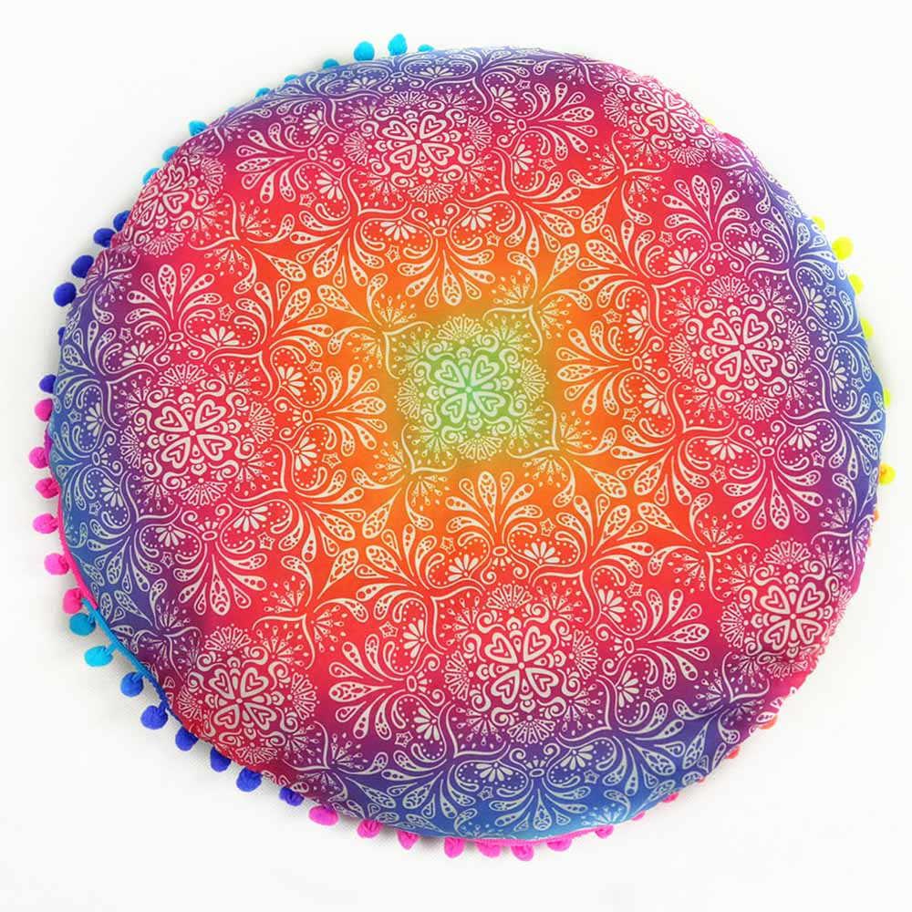 อินเดีย Mandala ชั้นหมอน Bohemian Cushion หมอน COVER หมอนกรณี Almofada Decorativa