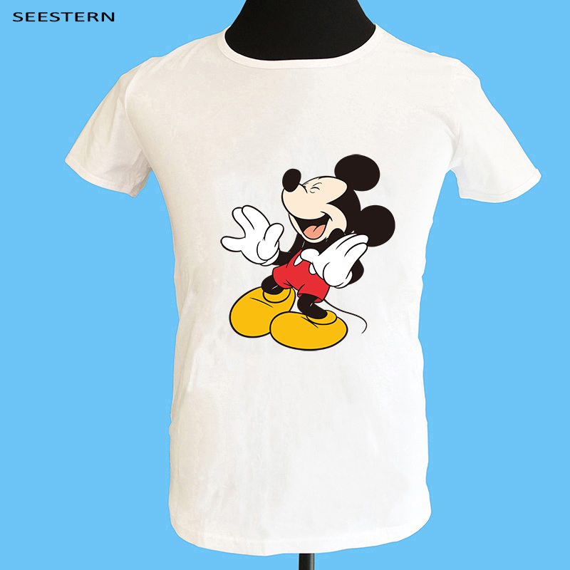 Seestern brand clothing new men s printing anime mouse t font b shirt b font fashion