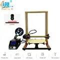 Оригинальный Creality3D CR 10S 3d принтер большого размера Настольный DIY принтер ЖК экран дисплей 150 мм/сек. с sd картой офлайн печать