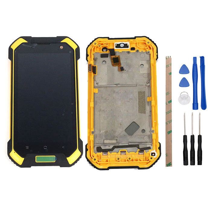 4.7 inch For Blackview BV6000 BV6000S LCD + Touch Screen With Frame Assembly Repair Parts For Blackview BV6000 Phone With Tools