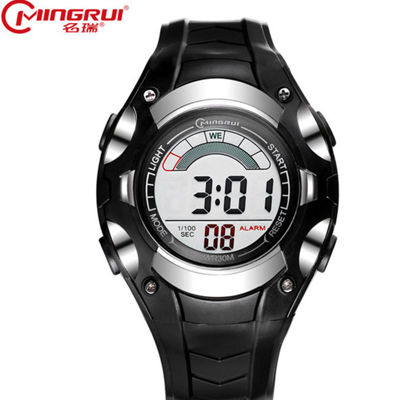 Children s classic watches LED outdoor sports waterproof luminous electronic watches boys and girls watches Relogio