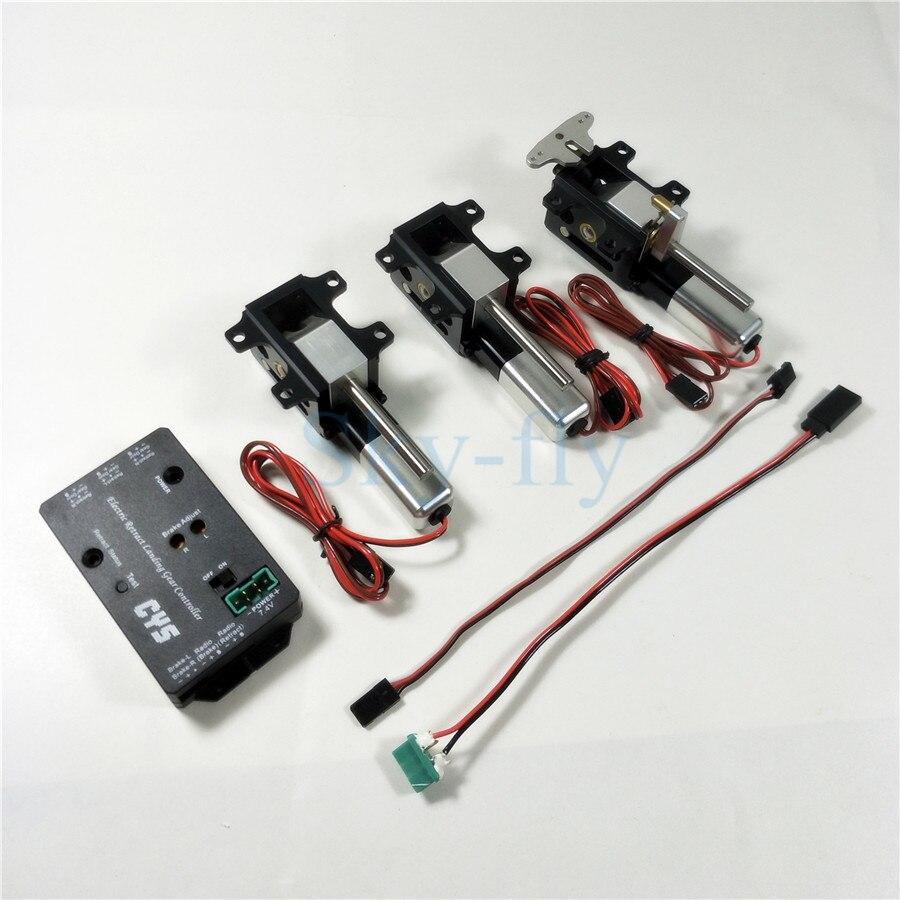 3 st Set CYS R2090 90 Graden Elektrische Roterende Intrekken Landingsgestel Voor 6.0 ~ 12 kg Straalturbinemotoren RC Vliegtuig-in Onderdelen & accessoires van Speelgoed & Hobbies op  Groep 1