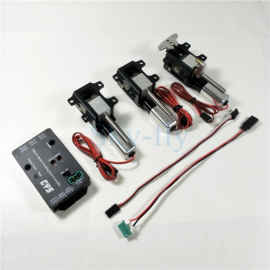 1pc Micro Size Electric Retract Landing Gear PZ-15094SM For RC Plane 54.8*32*21