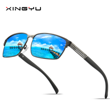 Mens Polarized Sunglasses Driving glasses Fishing sunglasses classic style Square Fashion