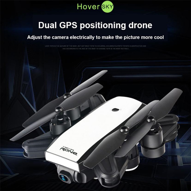 цена на RC Quadcopter Dual GPS FPV Drone Quadcopter with 720P HD Camera Wifi Headless Mode rc quadcopter drone high quality free shipMM4