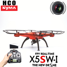 SYMA X5SW / X5SW-1 RC Drone Quadcopter WiFi with FPV Camera Headless 6-Axis Real Time RC Helicopter Quad copter Toys