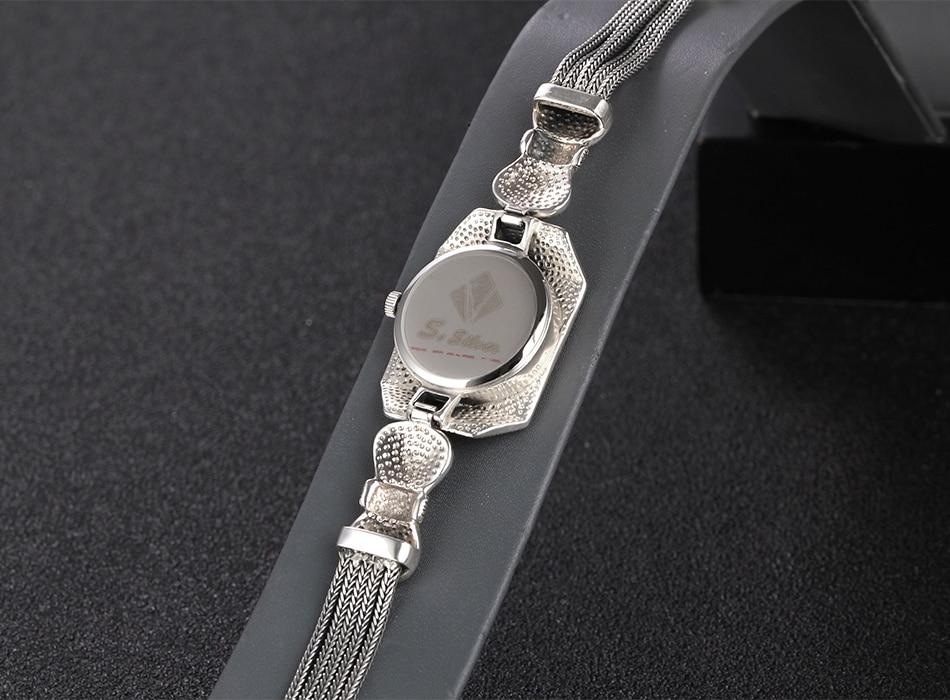 relógio retro de prata esterlina 925 para
