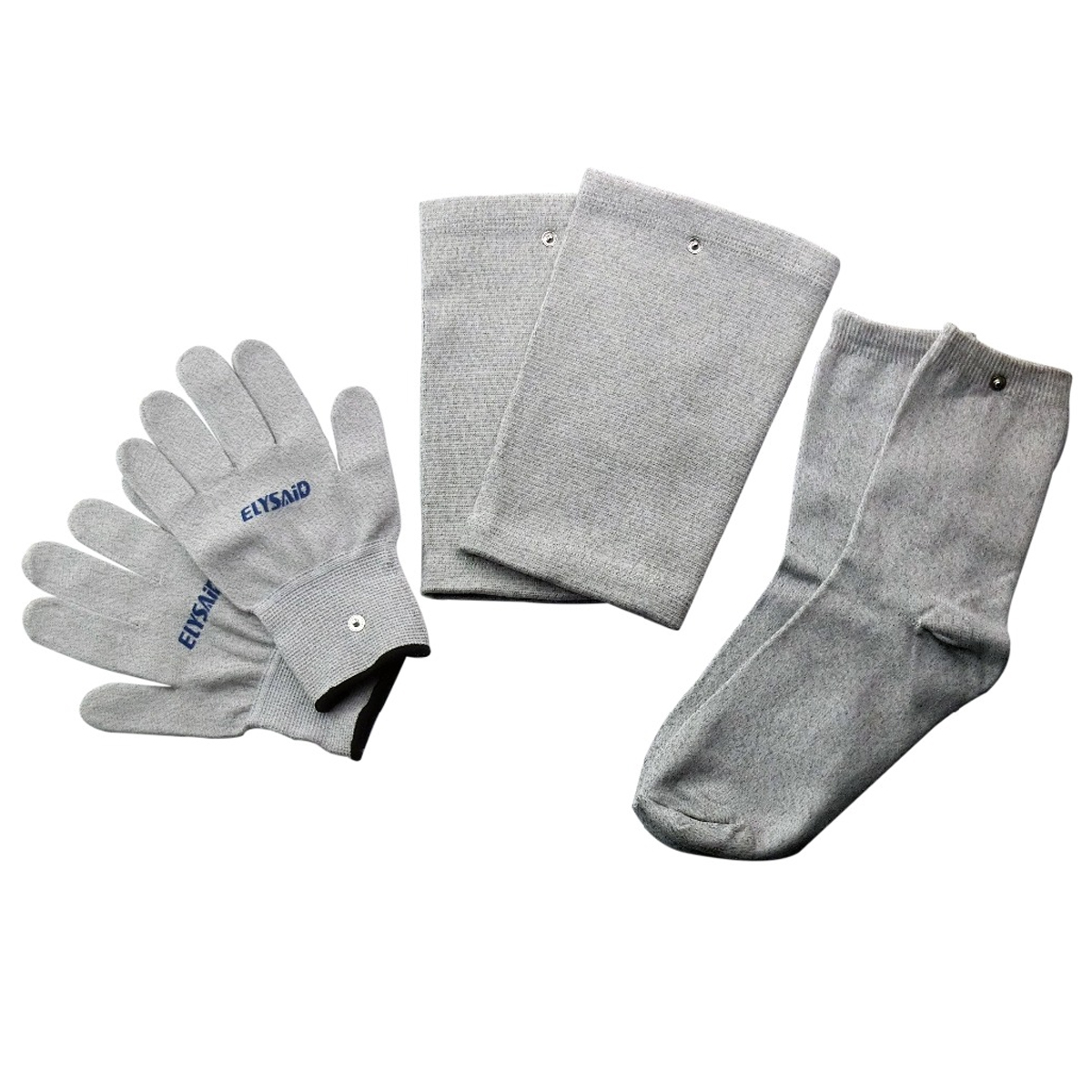 1 Set=3 Pairs Electrical Stimulator Conductive Fiber TENS/EMS Massage Gloves Socks Electrotherapy/Facial Conductive Knee Pads 800 wires soft silver occ alloy teflo aft earphone cable for westone es3x es5 um2 um3xrc um3x w4r ln005403