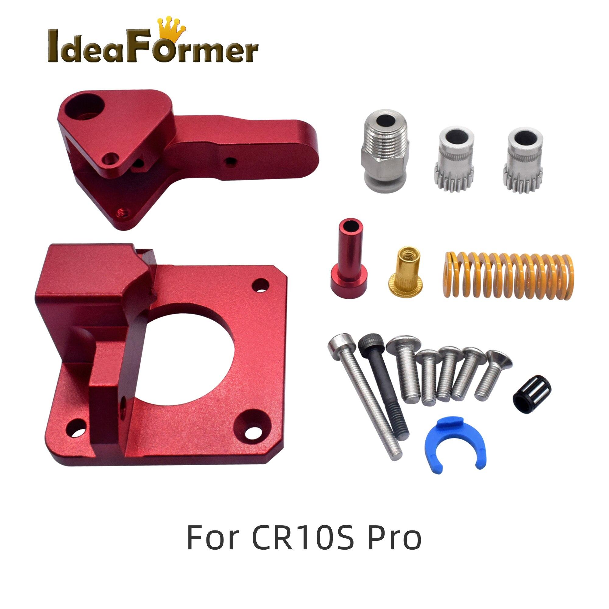 Купить комплект металлического экструдера cr10s pro mk8 с двумя редукторами