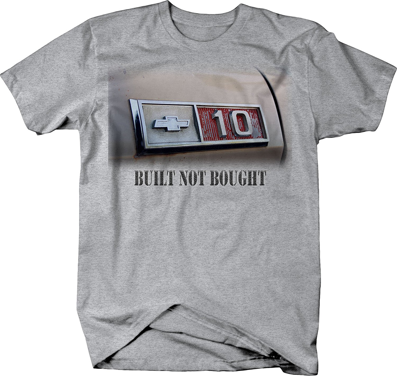 Chevy T Shirts >> Us 12 06 5 Off 2019 Summer Cool Men Tee Shirt Chevy C10 Built Not Bought Vintage 1970 S Truck T Shirt Funny T Shirt In T Shirts From Men S Clothing