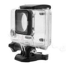 цена на 2019 NEW  Waterproof Cover Diving Protective Housing Underwater Case For GoPro Hero 3 4