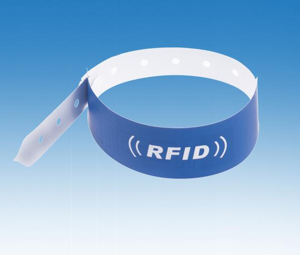 Zugangskontrolle 19000 Teile/los 13,56 Mhz Oder 125 Khz Rfid Armband Armband Proximity Pp Synthetisches Papier Nfc Smart Uhr Typ Für Access Control