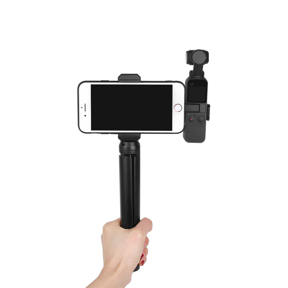 OSMO Pocket Smartphone Fixing Bracket Stand Clamp Extending Rod Tripod for DJI OSMO POCKET Gimbal Accessories 26