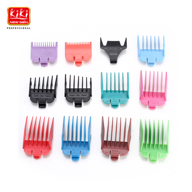 KIKI  12 in 1 guide comb set 1.5/3/6/10/13/16/19/22/25 mm limitied comb set for clipper