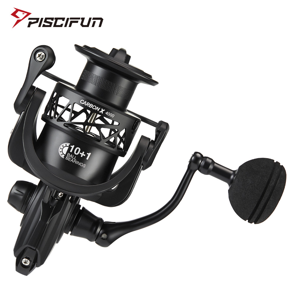 Piscifun Carbon X Spinning Reel 6 2 1 High Gear Ratio Light to 220g Carbon Frame