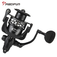 Piscifun Carbon X Spinning Reel 6.2:1 High Gear Ratio Light to 220g Carbon Frame Rotor 11 Shielded BB Saltwater Fishing Reel