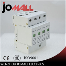 цена на SPD 3P+N 20KA~40KA C ~385VAC House Surge Protector Protective Low-voltage Arrester Device