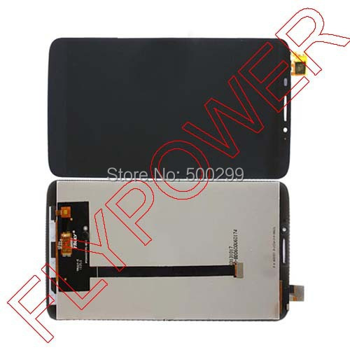 For Alcatel One Touch Hero 8020 8020D OT8020  Lcd Display Touch Screen Digitizer Assembly  black by free shipping