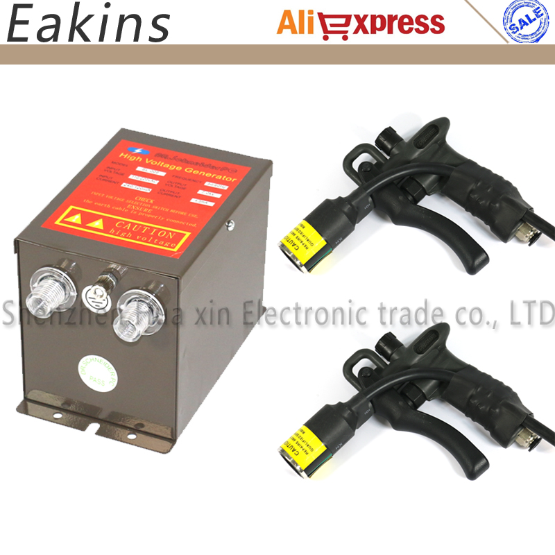 SL-009 ELIMINATOR POWER SUPPLY 7.0Kv+2 pcs SL-004C ESD Ionizing Air Gun Lonizing air blowers static eliminate 110V or 220V цена