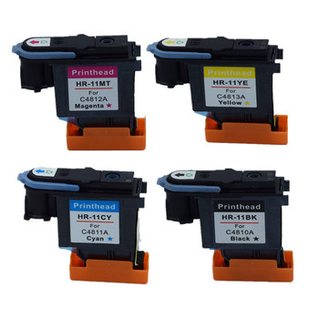 YI LE CAI compatible Printhead for HP 11 Print head for hp11 C4810A C4811A C4812A C4813A 1000 1100 1200 2200 2280 2300 2600 2800