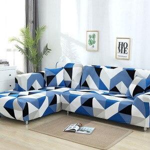 Image 5 - L şekilli kanepe kılıfı streç kesit kanepe kılıfı koltuk takımı kanepe kılıfı s oturma odası için housse kanepe slipcover 1/2/3 /4 kişilik