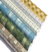 Hot High Temperature Oil Sticker Kitchen Self Adhesive Foil Stickers Waterproof Bathroom Mosaic Tile Wallpaper