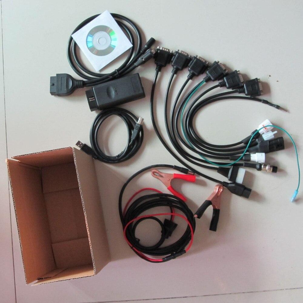Outil de diagnostic de moto de qualité supérieure pour scanner de moto YAMAHA outil de diagnostic de moteur SYM KYMCO pour suzuki HTF PGO - 2