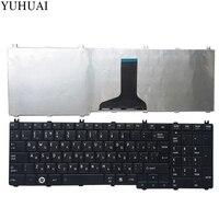 NEW Russian Laptop Keyboard For Toshiba Satellite L655 L655D C655 C655D C650D L650 L650D L755 Black