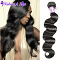 8A Indian Virgin Hair Body Wave 4 Bundles Unprocessed Virgin Indian Hair Body Wave Queen Hair Products Cheap Human Hair Bundles