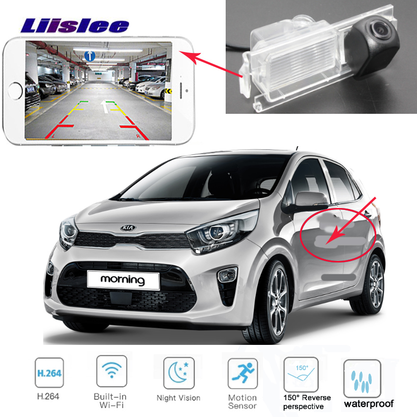 LiisLee For Kia Picanto For Kia Morning JA TA 2011 2019 car the new wireless reverse