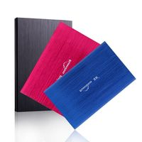 NEW Portable Storage External Hard Drive 2 5 USB2 0 120G Desktop And Laptop HDD Free
