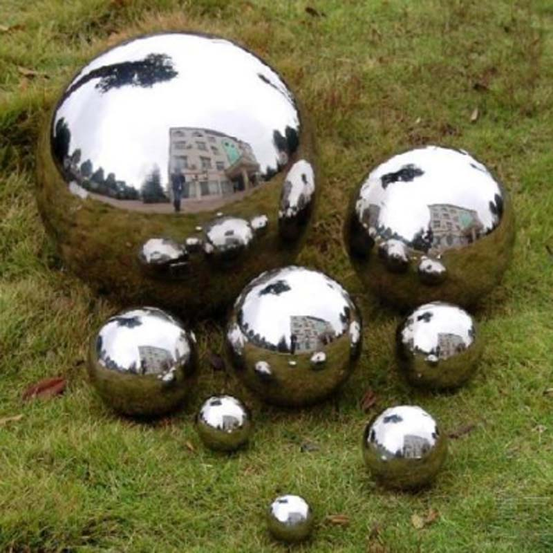 32mm Diameter 304 Stainless Steel Hollow Garden Balls