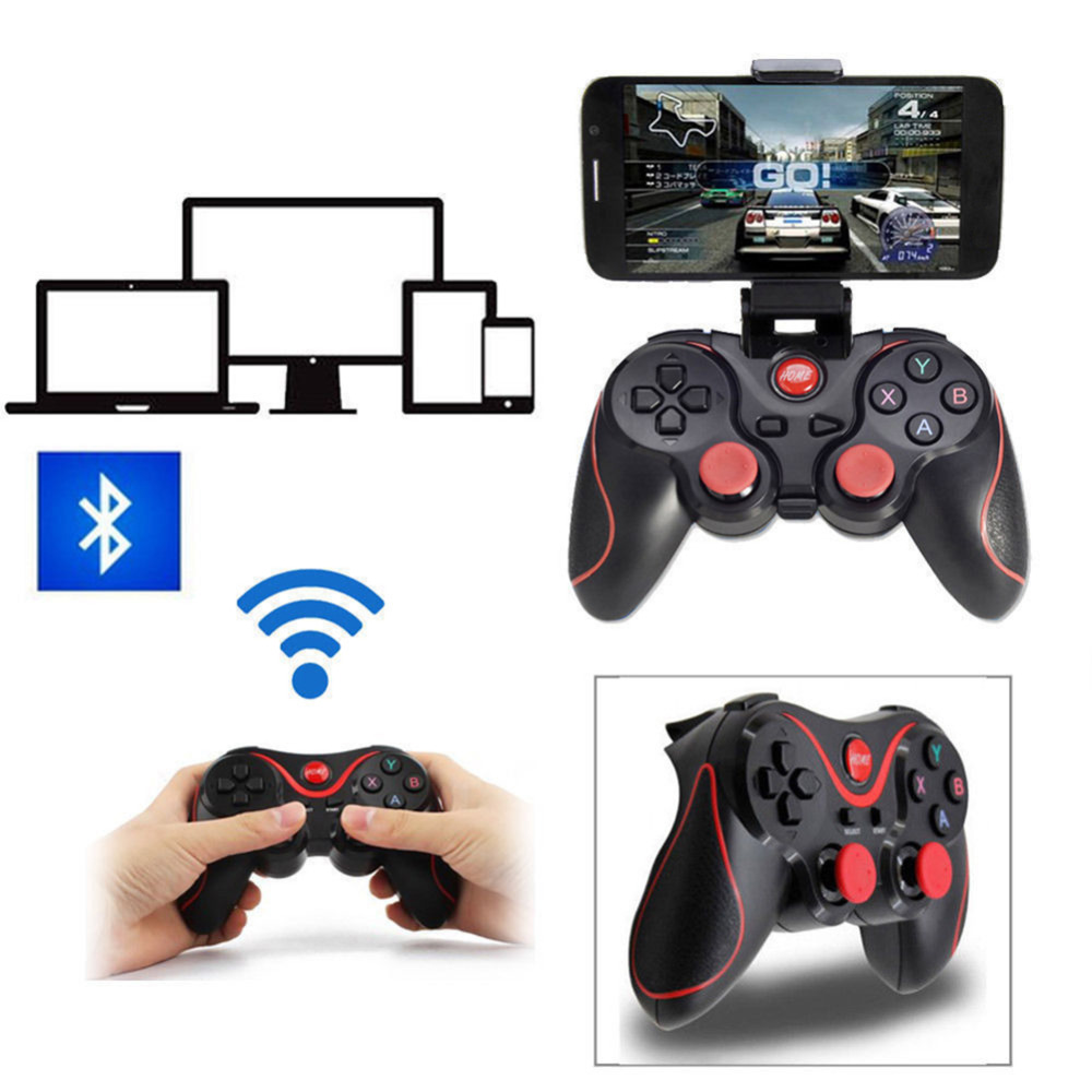 USB Wireless Bluetooth Game Gamepad Handle Controller Game Controller For ISO Android Phone TV PC Portable Gaming Joystick Hand